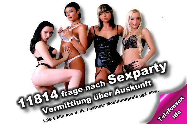 Sexparty Telefonsex ohne 0900 Nummer